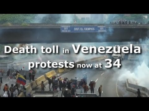 Death toll in Venezuela protests now at 34
