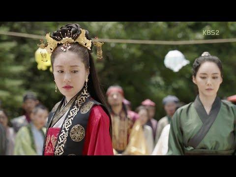 Hwarang: The Beginning. Soo Ho(Choi MinHo) and Queen Jiso(Kim Ji-Soo). Love theme