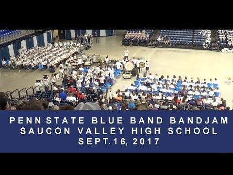 Penn State Blue Band Bandjam: Saucon Valley High School.