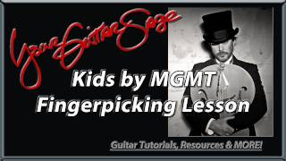 YGS - Kids - MGMT - Advanced  Acoustic Guitar Lesson - Fingerpicking