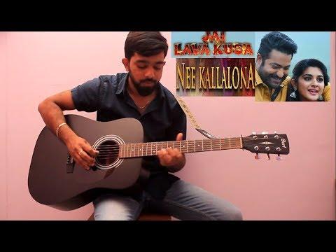 nee kallalona --guitar cover
