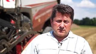 Rolnik Pan Kaczmarek wypowiada się na temat Kombajnu Rostselmash RSM 161 z oferty firmy Korbanek