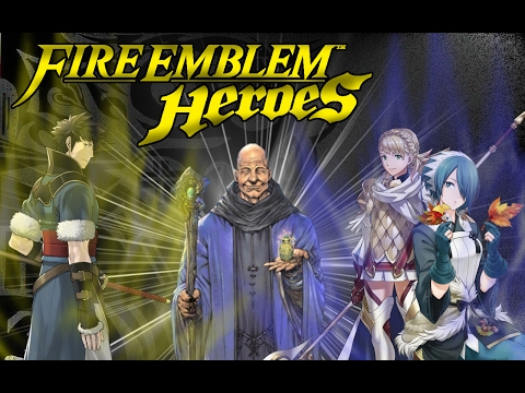 Fire Emblem HEROES - Gameplay En Español | Caps 1-2 | ¡Me he pasado con el nivel! Agregadme :@