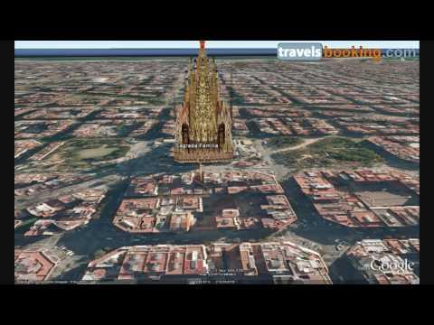Sagrada Familia Barcelona Virtual Tour with Google Earth