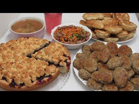 Постное МЕНЮ из 6 БЛЮД! Что мы едим в пост: Завтрак, Обед и Ужин