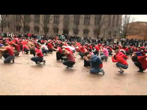 University of Washington Glee Flash Mob