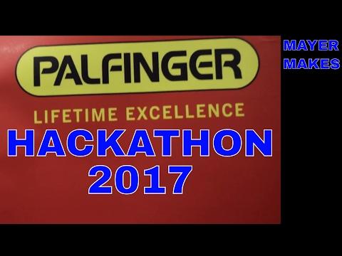 Palfinger Hackathon 2017 @Microsoft HQ Vienna | MAYER MAKES