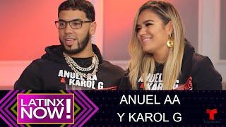 Anuel Aa Y Karol G: Sus Tatuajes De Amor  Latinx Now  Telemundo