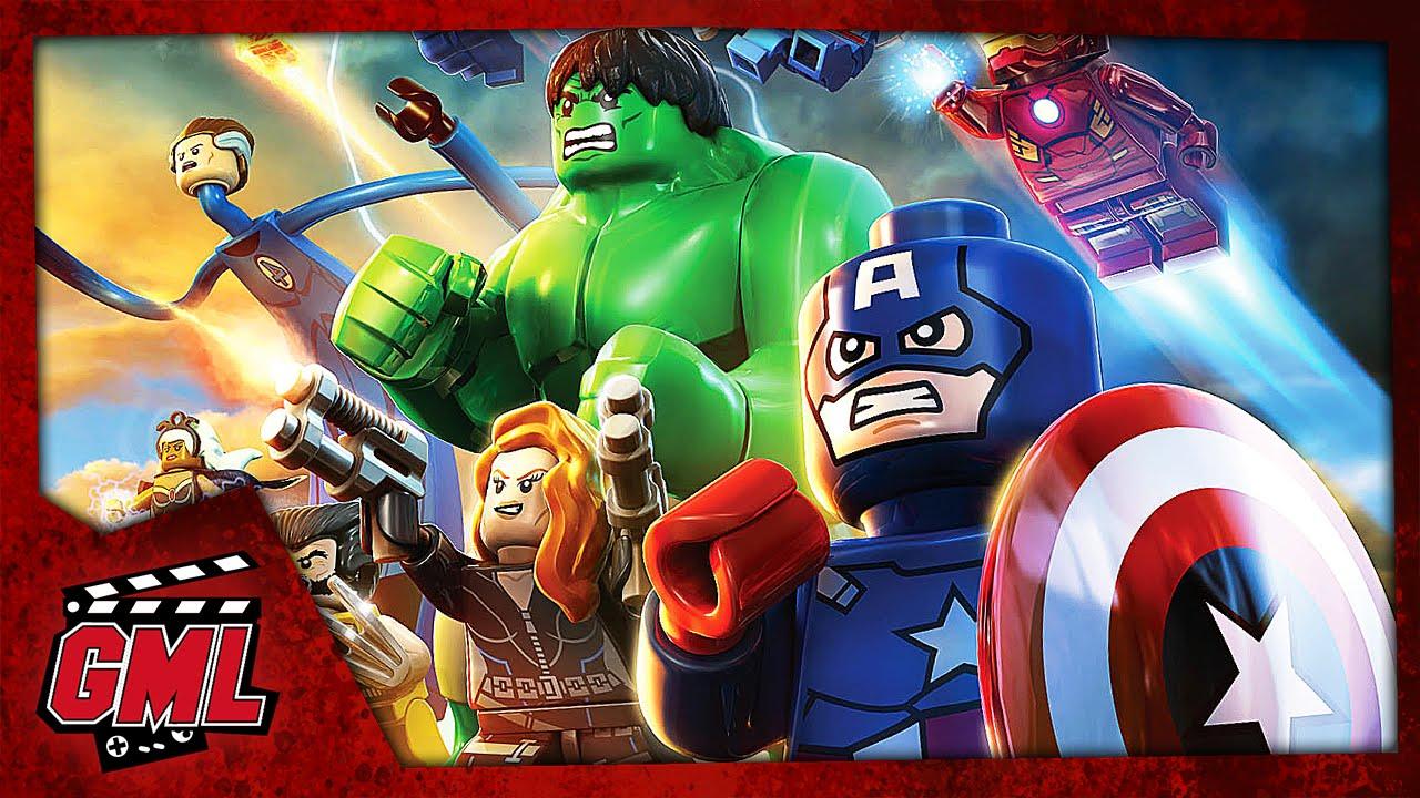 lego marvel super heroes - film jeu complet en francais