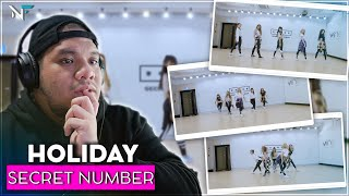 SECRET NUMBER(시크릿넘버) _ Holiday Dance Practice | THEY LOOK ST…