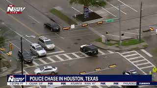 POLICE CHASE In Houston ENDS LIKE THIS