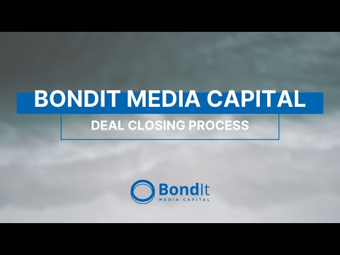 BondIt - Deal Closing Process