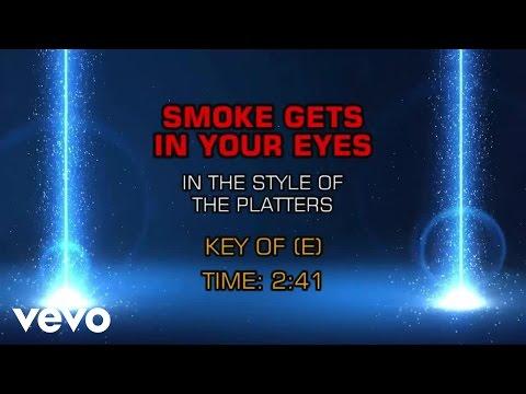 The Platters - Smoke Gets In Your Eyes (Karaoke)