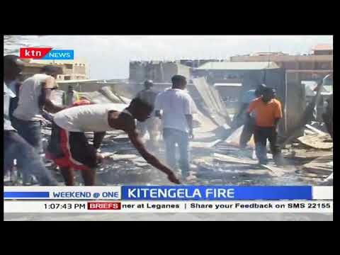Fire razed down at least 50 houses in Kitengela estate