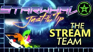 Starwhal: Just the Tip Gameplay - The Stream Team (Twitch Highlights)