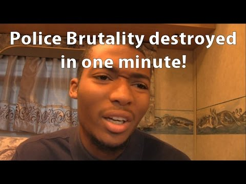 Cop Brutality destroyed in one minute!