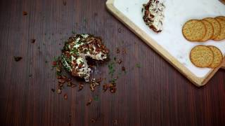 Cranberry Candied Pecan Cheeseball recipe