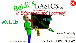 Baldi's Basics Custom Maps