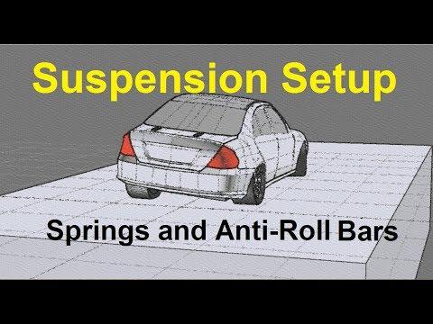 Suspension Setup (Springs and Anti-Roll bars / Sway bars)