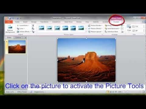 PowerPoint 2010 Tips - How to Compress Photo Size and Increase Image Resolution in PowerPoint 2010