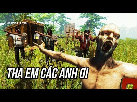 THE FOREST ONLINE #1: 4 THẰNG ĐỤT LẦN ĐẦU ĂN THỊT THỔ DÂN