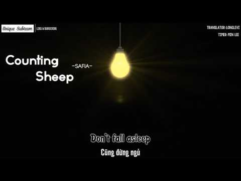 [Lyrics + Vietsub] SAFIA - Counting Sheep