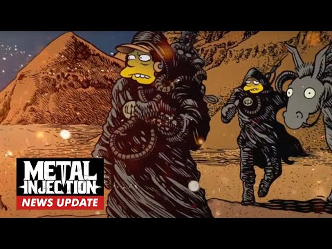 Simpsons-Themed Stoner-Metal Band DR. COLOSSUS Go For Deep-Cut References | Metal Injection