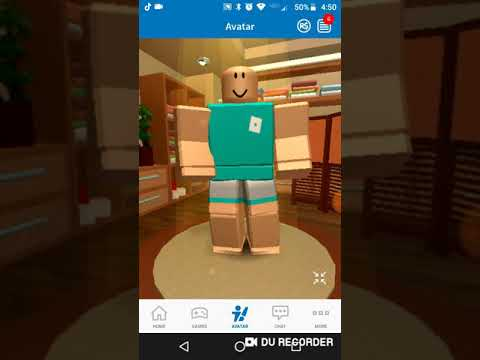 How To Get The Roblox Noob Skin On Mobile Youtube