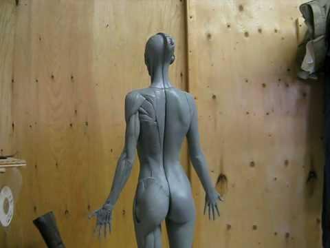 Anatomical Female Figure - YouTube
