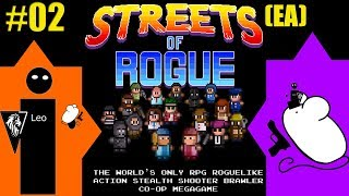 Let's Play Streets of Rogue (EA) coop with Mousegunner #02