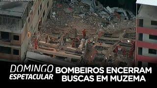 Bombeiros encerram buscas na comunidade da Muzema (RJ)