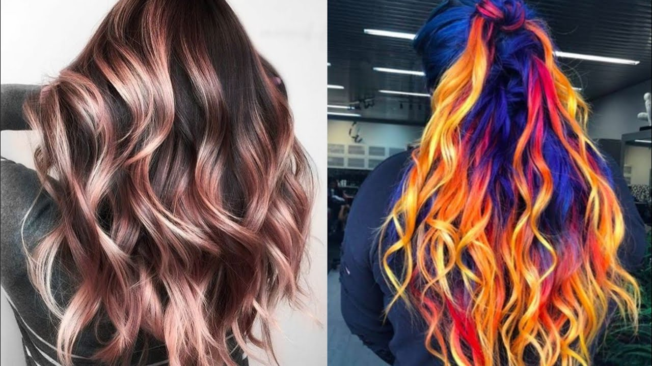 Gorgeous And Trendy New Hair Colours Ideas For Girls Short Youtube
