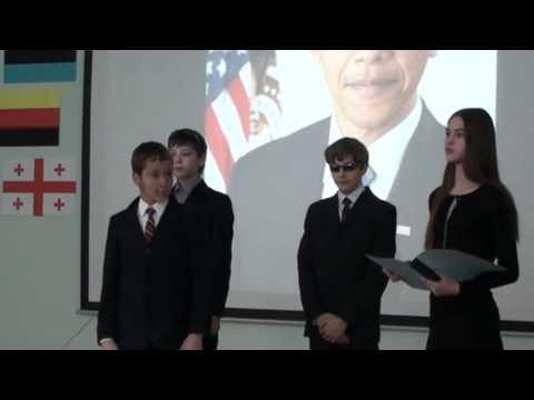 Russian School Children America Presentation