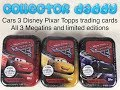 Cars 3 Disney Pixar Topps trading cards All 3 minitins and limited editions