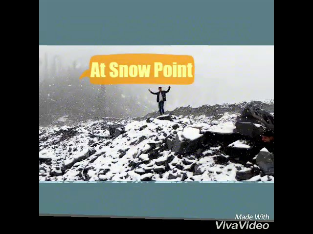 Snow Fall At ManaLi  himachal Pradesh enjoy winter vocations (Solang Nala)