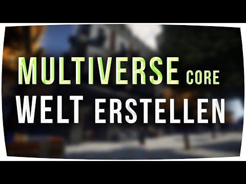 Multiverse Core ► Welt erstellen - Minecraft 1.12 - 1.8 - Tutorial [German]