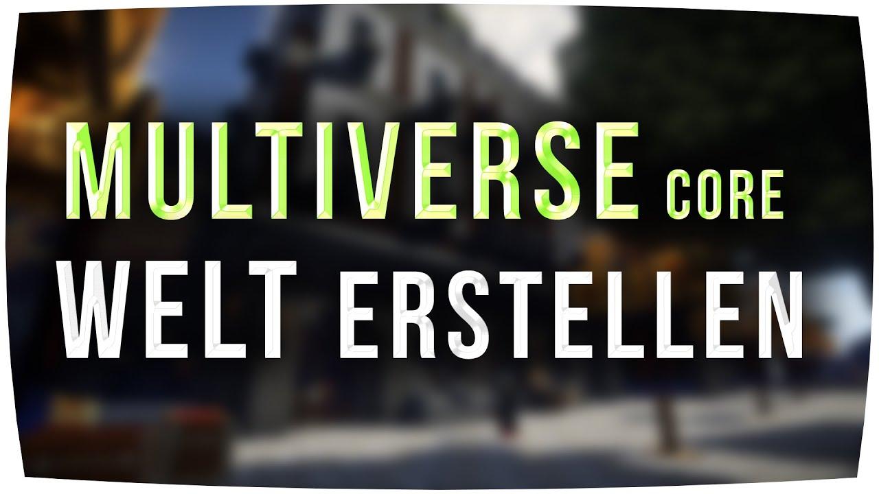 Multiverse Core Welt Erstellen Minecraft Tutorial - Minecraft server neue welt erstellen befehl