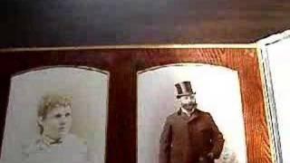 cabinet photos antique album.