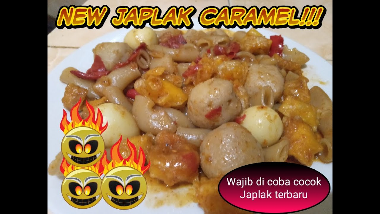 Tutorial Cara Membuat Japlak Part 2 Ll New Japlak Caramel Youtube