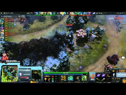 Na'Vi US vs NoT Game 1 D2CL