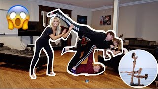 Couples Yoga Challenge!!!!!