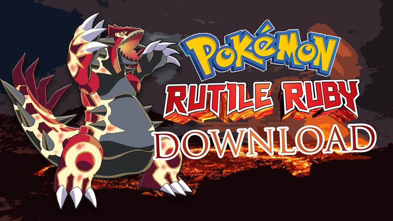 Pokemon Rutile Ruby 3DS Download (For Citra Emulator) by Andrew Inoue