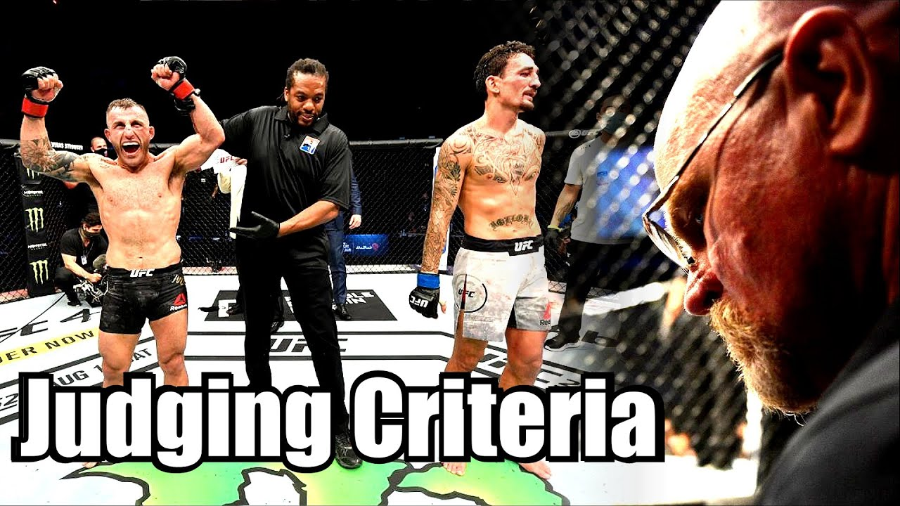 Let's review the MMA Judging Rules...