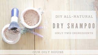 2 Ingredient Dry Shampoo Recipe