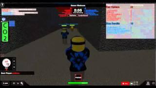 Random Realistic Paintball II match on ROBLOX ( Episode 1)