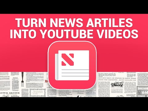 How To Turn NEWS Articles Into YouTube Videos (Make Money Online 2020) | Dreamcloud Academy