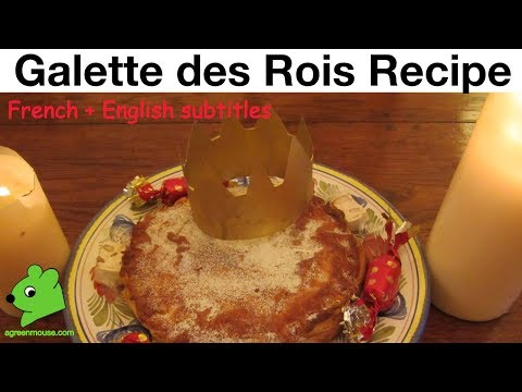 Galette des rois – Three Kings' Day Cake