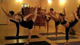 Yoga Oasis Hot YOGA part  1