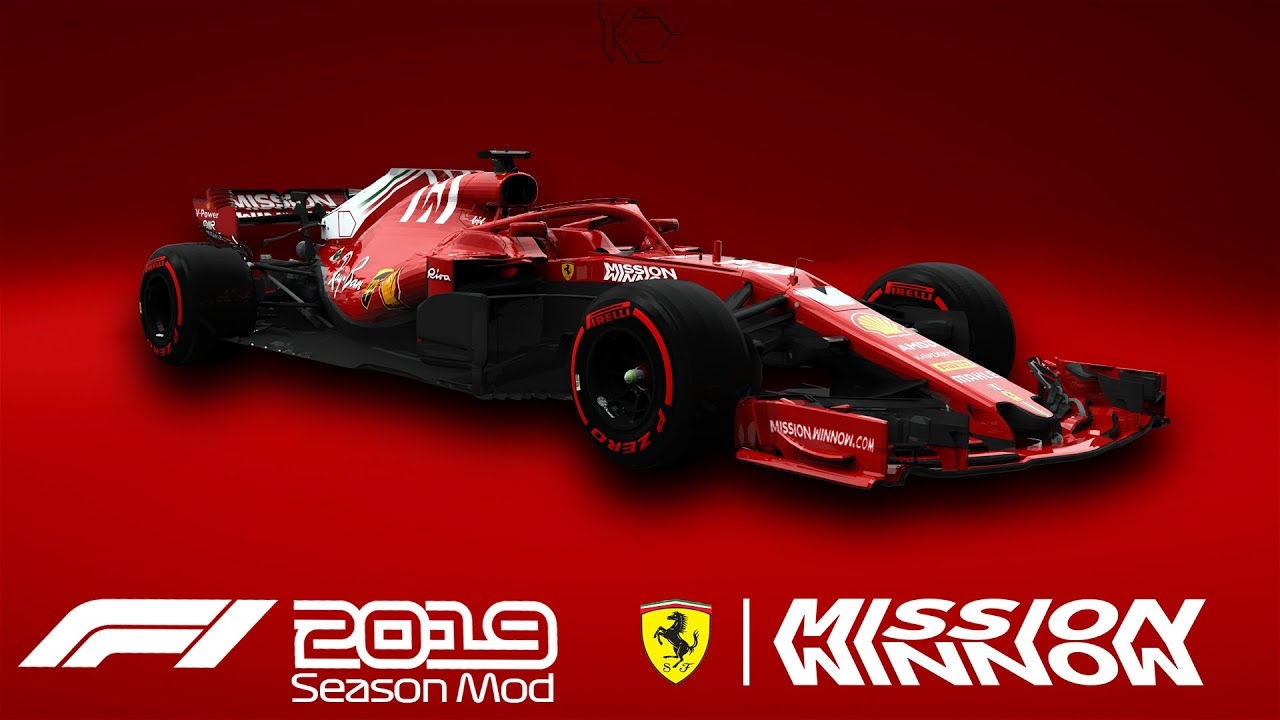 Scuderia Ferrari Mission Winnow Livery 2018/19 | RaceDepartment