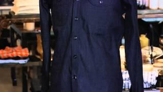 What Should a Guy Wear With a Dark Denim Shirt? : Men